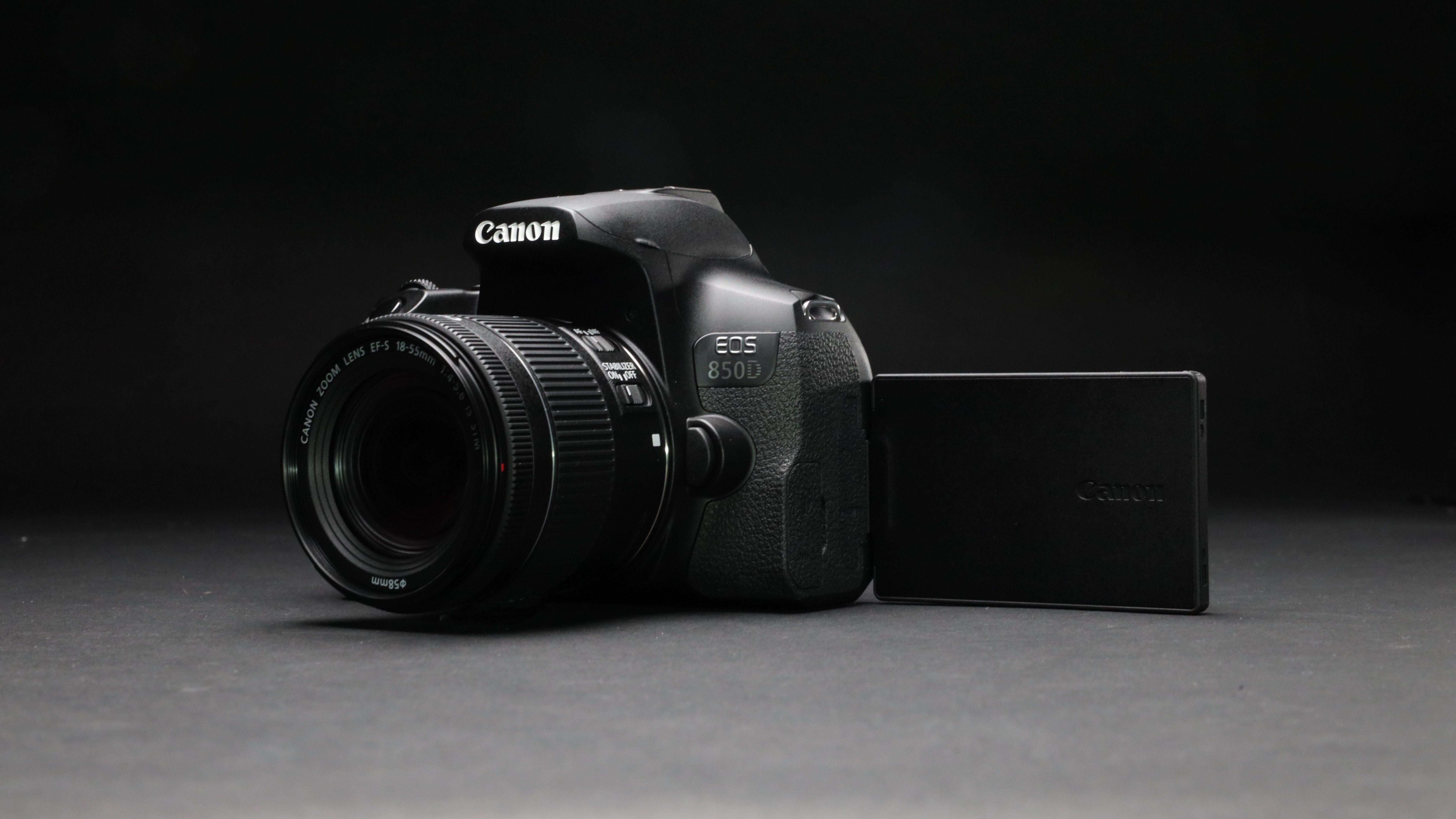 Canon EOS 850D studio shot